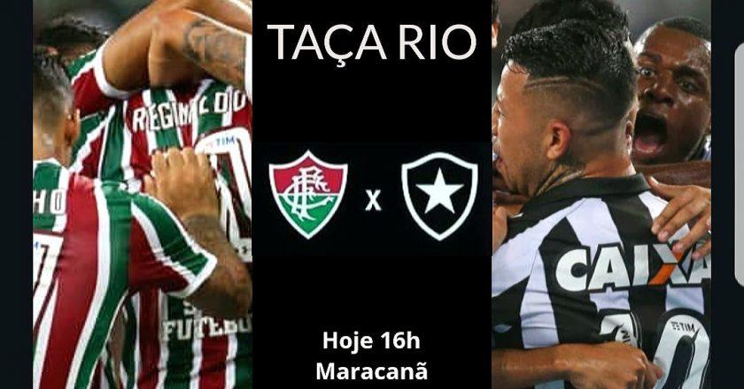 Fluminense X Botafogo. Foto: Eliane Pinheiro