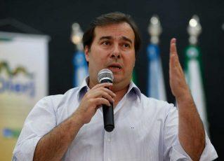 Rodrigo Maia. Foto: Agência Brasil