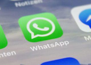 Aplicativo do WhatsApp. Foto: Reprodução/Flickr