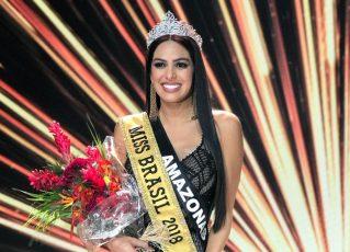 Mayara Dias, Miss Brasil 2018. Foto: Reprodução/Instagram.