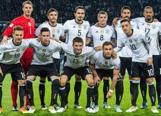 Seleção da Alemanha nas Eliminatórias para Copa do Mundo de 2018. Foto: Divulgação