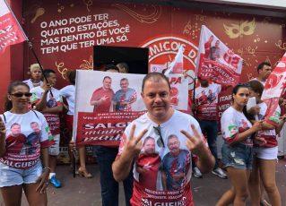 André Vaz durante eleição no Salgueiro. Foto: Max Gomes/SRzd