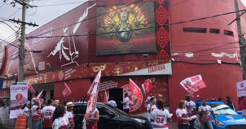Eleição no Salgueiro. Foto: SRzd/Max Gomes