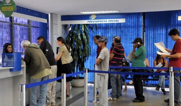 Agência do Instituto Nacional do Seguro Social (INSS). Foto: Antonio Cruz/Arquivo Agência Brasil