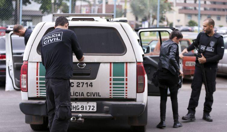 Polícia Civil. Foto: Marcelo Camargo/Agência Brasil