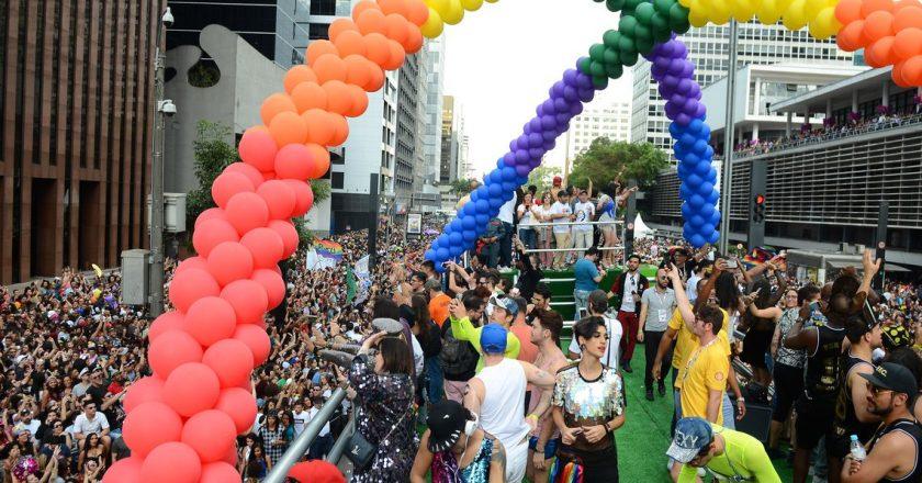 Parada do Orgulho LGBT. Foto: Rovena Rosa/Agência Brasil