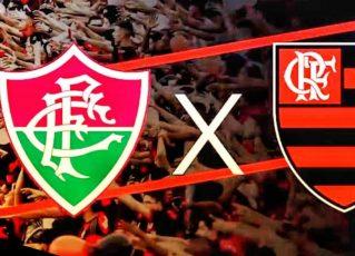 Fluminense x Flamengo. Foto: Divulgação
