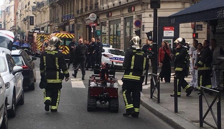 Sequestrador mantém reféns na França. Foto: Produção/Twitter