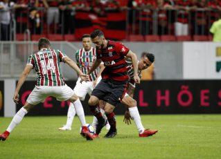 Fluminense x Flamengo. Foto: Staff Images/Flamengo