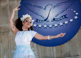Lucinha Nobre faz ensaio fotográfico inspirado em Clara Nunes. Foto: Leo Cordeiro