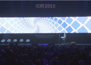 Cerimônia de abertura do Congresso Internacional de Matemática. Foto: Reprodução/ICM