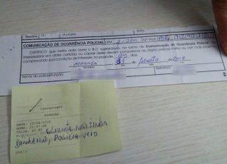 Casal apresenta cartão do Bolsa Família para pagar despesas em Motel. Foto: Luzia Batista/Arquivo pessoal