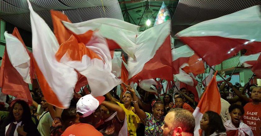 Final de sambas-enredo para 2019 da Estácio de Sá. Foto: SRzd/Eliane Pinheiro