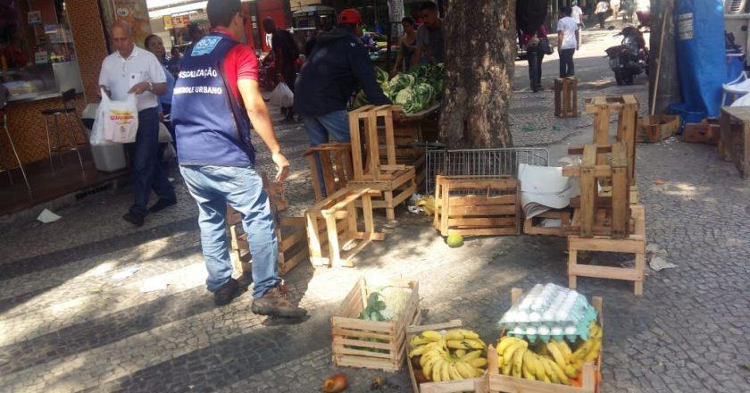 Fiscais da CCU na Praça Saens Peña. Foto: Divulgação