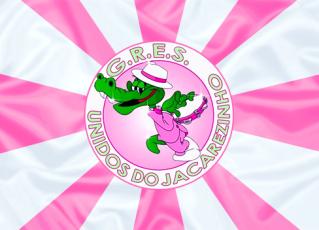 Bandeira da Unidos do Jacarezinho. Foto: Divulgação