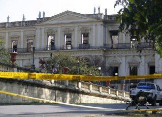 Museu Nacional do Rio de Janeiro. Foto: Fernando Frazão/Agência Brasil