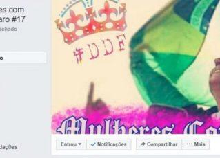 Grupo de mulheres contra Bolsonaro no Facebook é hackeado. Foto: Reprodução de Internet