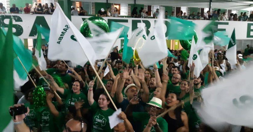 Final de samba-enredo da Camisa Verde e Branco 2019. Foto: SRzd - Fabio Capeleti