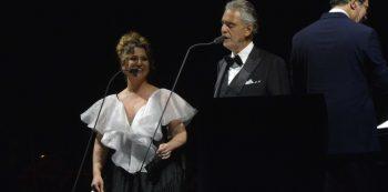 Maria Rita canta com Andrea Bocelli | Foto: Nyldo Moreira
