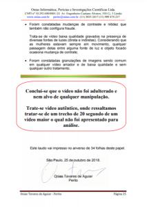 Laudo conclui ser João Doria no vídeo íntimo. Foto: Reprodução/Revista Fórum