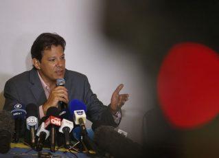 Fernando Haddad. Foto: Tânia Rêgo/Agência Brasil