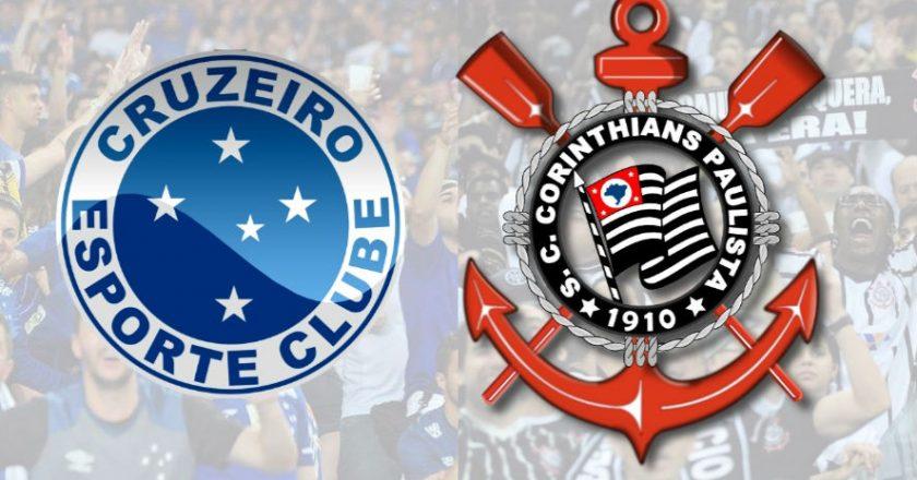 Cruzeiro e Corinthians. Foto: Divulgação