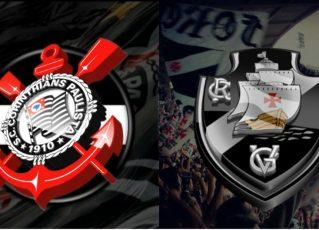 Corinthians e Vasco. Foto: Divulgação