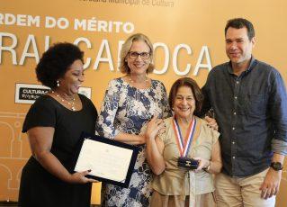 Prefeitura do Rio entrega Ordem do Mérito Cultural Carioca. Foto: Divulgação