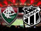 Fluminense e Ceará. Foto: Divulgação