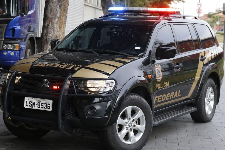 Polícia Federal em ação no Rio a operação Furna da Onça, um desdobramento da Operação Cadeia Velha. Foto: Tomaz Silva/Agência Brasil