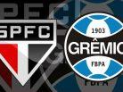 São Paulo x Grêmio. Foto: Divulgação