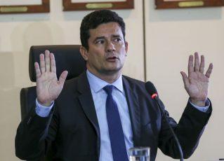 O futuro ministro da Justiça, Sérgio Moro, em entrevista coletiva . Foto: Fabio Rodrigues Pozzebom/Agência Brasil