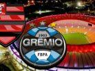 Flamengo x Grêmio. Foto: Divulgação