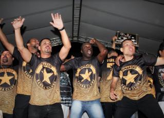 Compositores do samba vencedor da Botafogo Samba Clube. Foto: Emerson Pereira