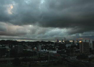 Tempo nublado. Foto: Reprodução de Internet