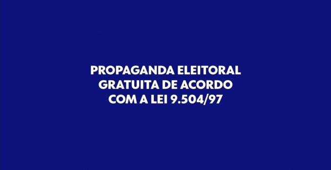 Propaganda eleitoral. Foto: Reprodução
