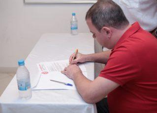 André Vaz toma posse da presidência do Salgueiro. Foto: Divulgação/Alex Nunes