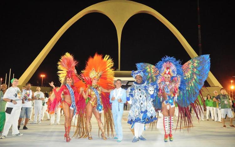 Corte do Carnaval carioca de 2018. Foto: Eduardo Trinta
