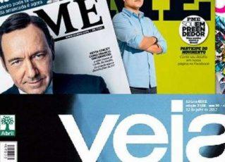 Revistas da Editora Abril. Foto: Reprodução