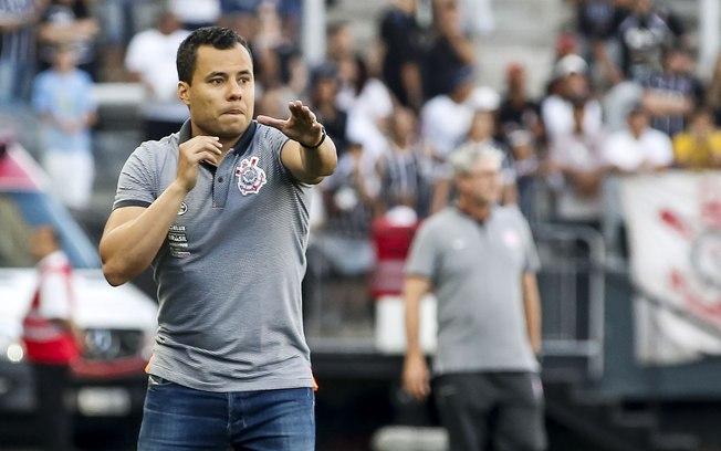Jair Ventura. Foto: Divulgação/Corinthians