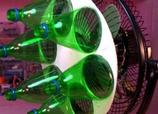 Ar condicionado caseiro. Foto: Reprodução de Internet