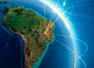 América do Sul. Foto: Reprodução