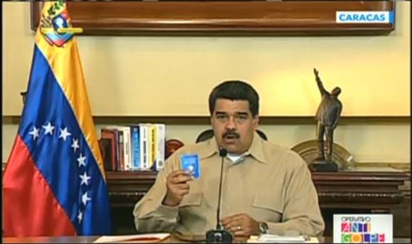 Nicolás Maduro. Foto: Reprodução de TV