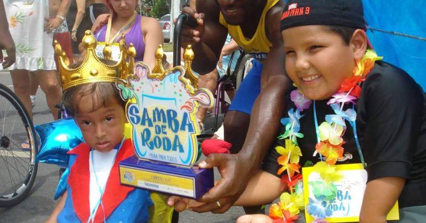 Copacabana recebe concurso de fantasias para pessoas com deficiência. Foto: Divulgação