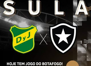 Defensa y Justicia x Botafogo. Foto: Divulgação