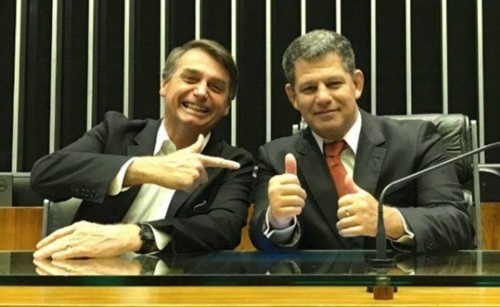 Jair Bolsonaro e Gustavo Bebianno. Foto: Divulgação