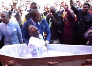 Pastor é processado por simular ressurreição em vídeo. Fonte: Reprodução de Internet