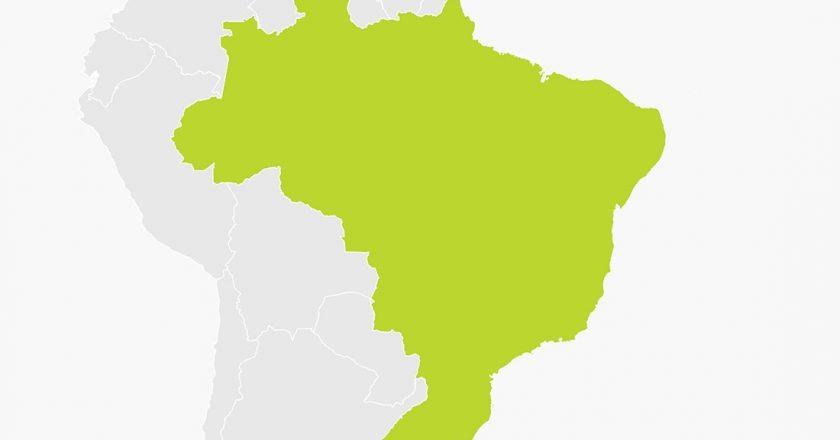 Mapa do Brasil. Foto: Reprodução