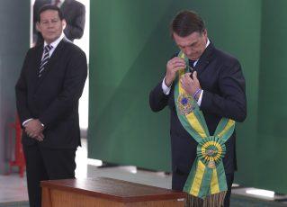 Jair Bolsonaro e Hamilton Mourão. Foto: