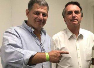 Gustavo Bebianno e Jair Bolsonaro. Foto: Reprodução de Internet